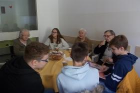 Bralna značka v domu starejših občanov
