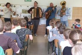 Obisk profesorjev iz Glasbene šole Velenje