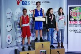 Nuša Prijević - 2. na DP v boksu