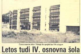 40 let Osnovne šole Livada Velenje